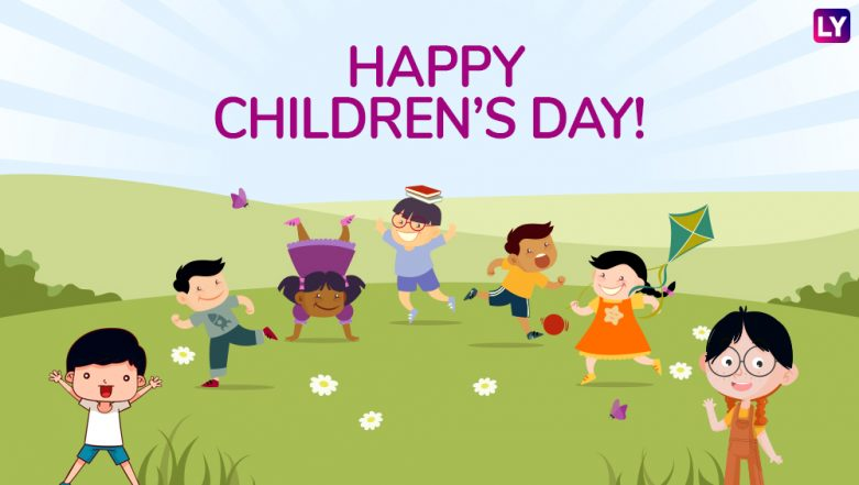 Children's Day 2018 Wishes: WhatsApp Messages & Stickers, GIF Images, SMS & Facebook Cover Photos to Greet Kids on 14th November