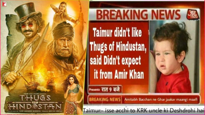 Thugs of Hindostan Records Highest Day 1 BO Collection, but Having a Hard Time Stopping Fans From Posting Funny Memes and Jokes