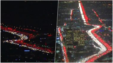 Thanksgiving 2018 Causes Traffic Jams in LA: Watch Videos and Pictures of Traffic Situation Ahead of Holiday Season in The US