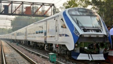 Train 18 Speed Trial Successfully Conducted on Moradabad-Bareilly Route, Watch Video