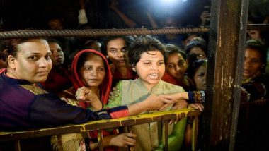 Sabarimala Temple Reopens Today: Activist Trupti Desai Stuck at Airport For 5 Hours Amid Protests