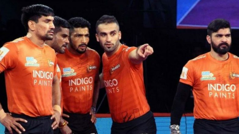 PKL-6 Video Highlights: U Mumba Open Home Leg With Thumping Win Against Jaipur Pink Panthers