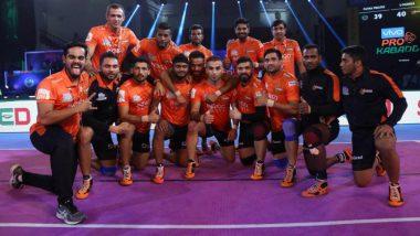 PKL 2018–19 Video Highlights: U Mumba Outclass Puneri Paltan 31–22 in Maharashtra Derby