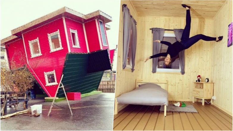 UK's First Upside-Down House in Bournemouth Has Opened Its Doors to Public, See Pics