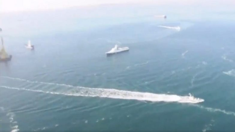 Ukraine slams Russian 'aggression' after boat is 'rammed' in sea standoff