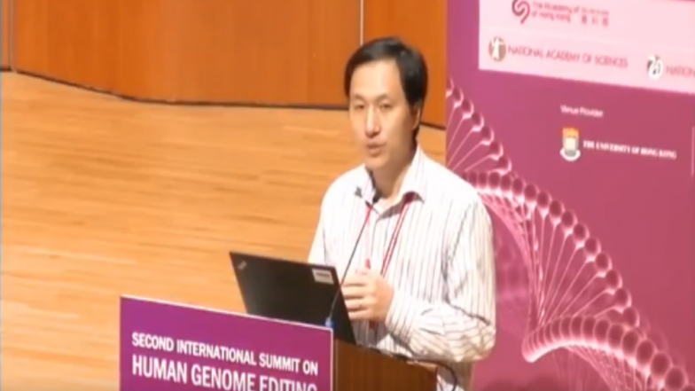 Gene-Edited Baby Trial 'Paused' Following International Outcry: Chinese Scientist He Jiankui