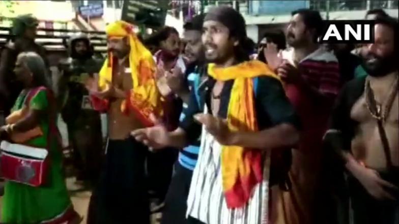 Sabarimala Temple Row: 28 Devotees Taken Into Preventive Custody Amid Fresh Protests