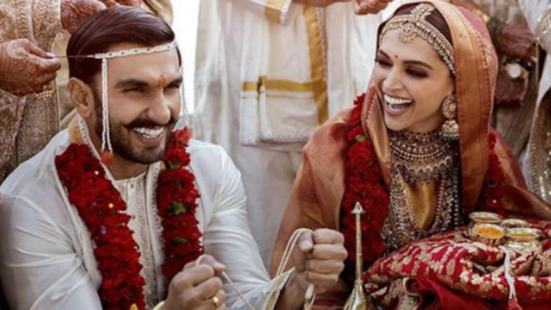 Deepika Padukone and Ranveer Singh's First Wedding Pic OUT!   LatestLY