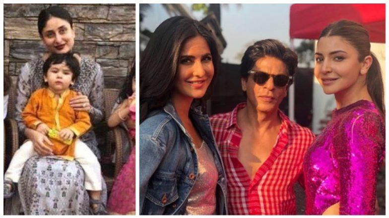 Taimur-Inaaya's Diwali Play Date, Shah Rukh-Katrina-Anushka at Zero Trailer Launch - Best Clicks of the Week