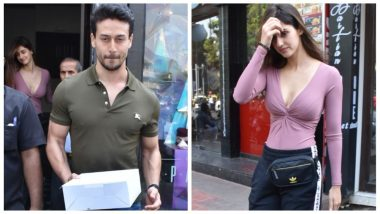 Sunday well Spent! Tiger Shroff and Disha Patani Spotted on a Lunch Date - See Pics