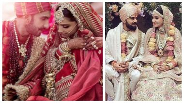 Deepika Padukone-Ranveer Singh or Virat Kohli-Anushka Sharma: Whose Perfect Wedding Click is Your Favourite?