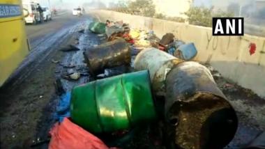 Haryana: 5 Killed, 9 Injured As Car Mows Down Labourers Sleeping on Overbridge in Hisar