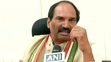 Congress Dissolves In Telangana As 12 Of 18 Lawmakers Join KCR, TPCC Chief Alleges MLAs 'Benefitted' for Joining TRS