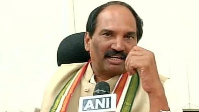 Lok Sabha Elections 2019: Congress Fields State Unit Chief N Uttam Kumar Reddy to Boost Prospects in Telangana
