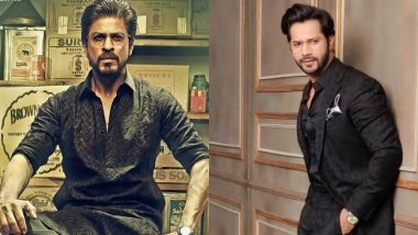 Varun Dhawan Steps Out Looking Like Shah Rukh Khan From Raees At The Lux Golden Rose Awards 2018 Red Carpet And We Are Impressed!