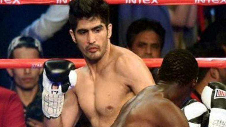 Boxer Vijender Singh to Join Congress, Likely to Contest From South Delhi in Lok Sabha Elections 2019: Reports