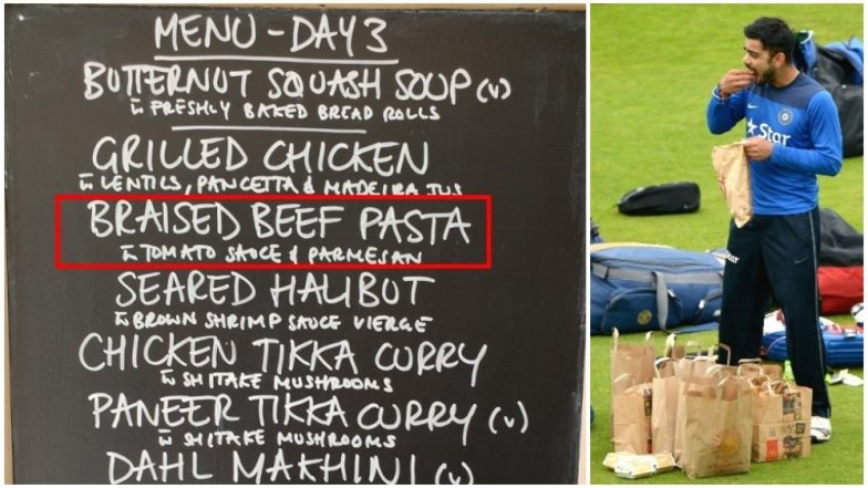 No Beef for Indian Team Menu on 2018–19 Australia Tour? BCCI Inspection Team Recommends to Strike It off Team's Dietary Plans!