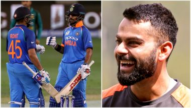 IND vs AUS 1st T20I, 2018: Rohit Sharma and Shikhar Dhawan Eye Virat Kohli's Record of Most Runs in a Calendar Year