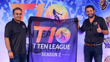 T10 League 2018 Live Streaming on SonyLIV: Watch Free Live Telecast of All 10-Over-A-Side Cricket Matches on TV and Online From Sharjah