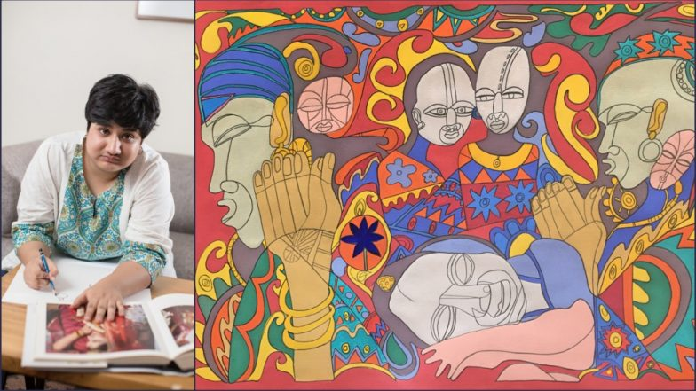 Delhi: Autistic 24-Year-Old Girl's Sketches and Paintings to Be on Display at 'Metro Diaries: Lives Extraordinaire'