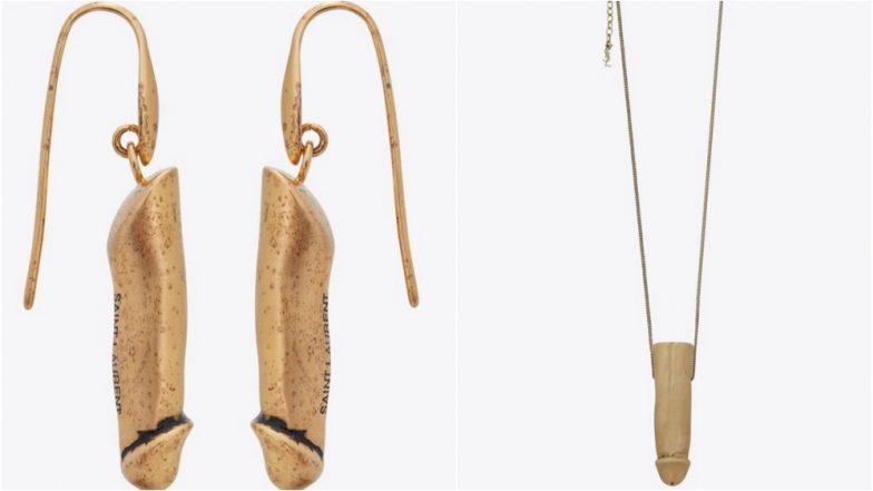 Fancy Wearing Penis on Your Ears? YSL Launches Dick-Shaped Earrings & Pendant Worth More Than Rs. 50,000