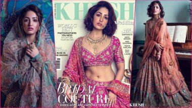 Yami Gautam Stuns in Rimple and Harpreet Narula Couture on Khush Wedding Magazine Cover (See Pics)