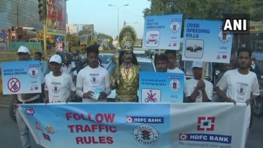 Lucknow Traffic Police Ropes 'Yamraj' for Road Safety Campaign