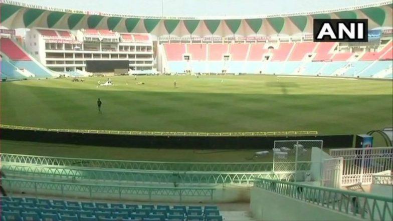 UP CM Yogi Adityanath Inaugurated the 'Bharat Ratna Shri Atal Bihari Vajpayee International Cricket Stadium' in Lucknow