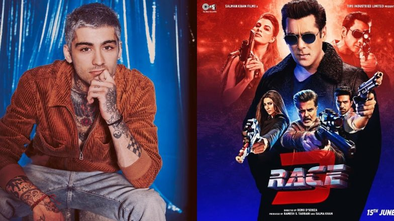 Zayn Malik's Bollywood Obsession Continues! Former One Direction Singer Gets Love For Crooning Salman Khan's Race 3 Song Allah Duhai Hai