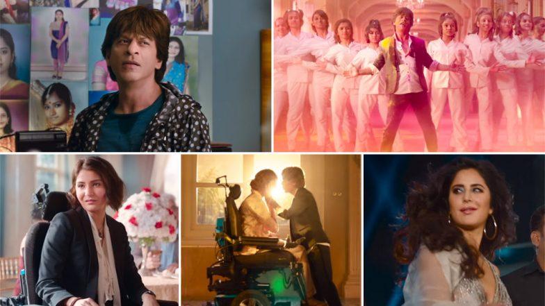 Zero Trailer: Shah Rukh Khan as Bauua Singh Spells Magic But Katrina Kaif and Anushka Sharma Steal The Show Too - Watch Video