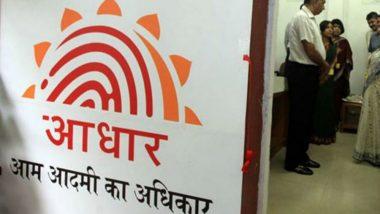Aadhaar Biometric Updation Fees: UIDAI Warns People Against Fake Charges; Know the Fees of Aadhaar Biometric and Other Updates