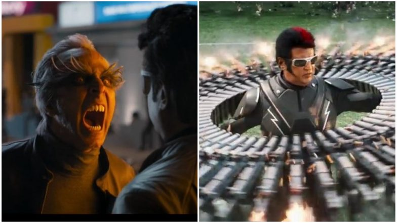 Rajinikanth and Akshay Kumar's 2.0 Trailer is Larger Than Life But Twitterati is NOT Convinced!