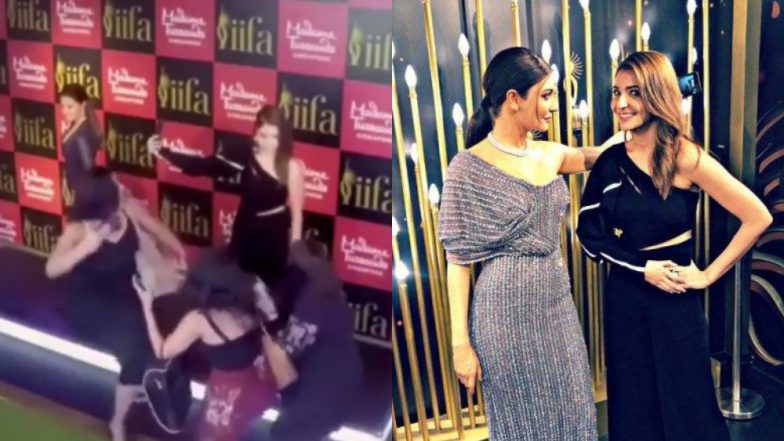 Anushka Sharma's Plays a Funny Statue Prank on Her Fans at Madame Tussauds Museum - Watch Video