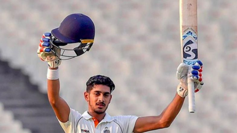 Aryaman Birla After Being Retained by Rajasthan Royals Ahead of IPL 2019 Auction Scores Maiden First Class Ton
