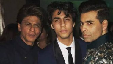 Shah Rukh Khan's Son Aryan Khan Turns 21! Karan Johar Extends Birthday Wishes to 'Baby Boy'