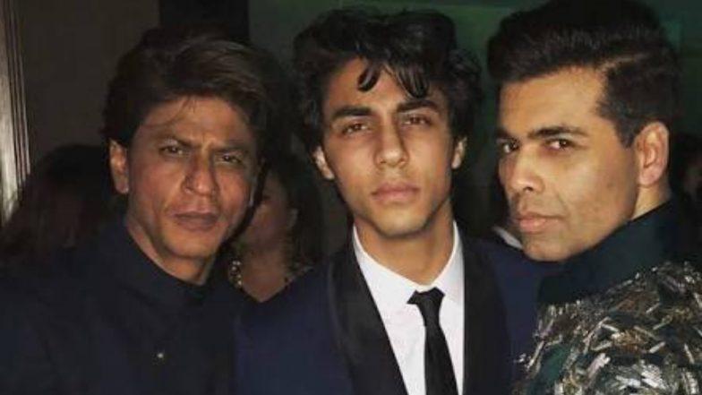 Shah Rukh Khans Son Aryan Khan Turns 21 Karan Johar Extends Birthday Wishes To