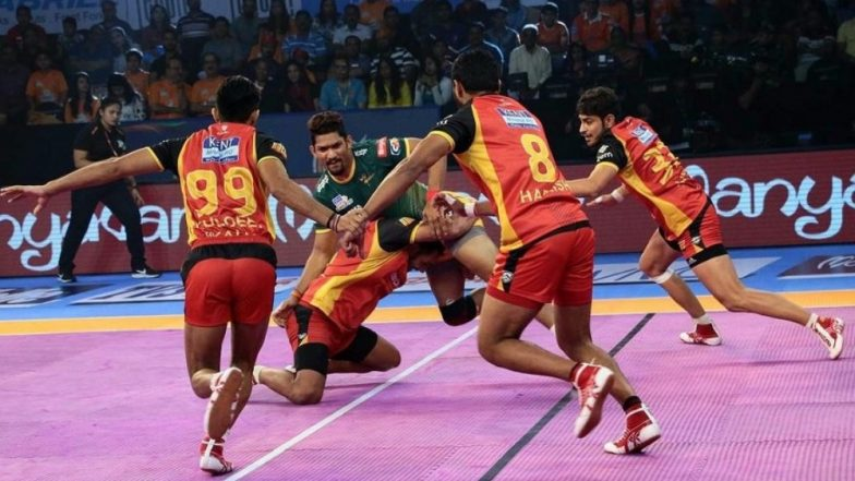 Bengaluru Bulls vs UP Yoddha, PKL 2018-19, Match Live Streaming and Telecast Details: When and Where To Watch Pro Kabaddi League Season 6 Match Online on Hotstar and TV?