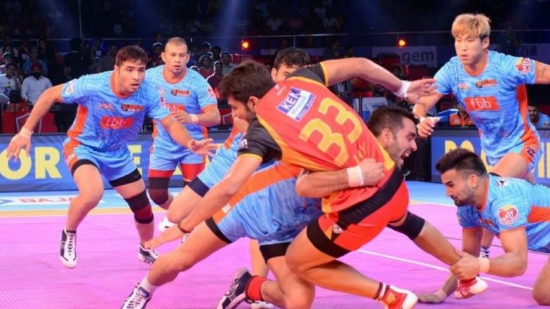Bengaluru Bulls vs Bengal Warriors, PKL 2018-19 Match Live Streaming and Telecast Details: When and Where To Watch Pro Kabaddi League Season 6 Match Online on Hotstar and TV?