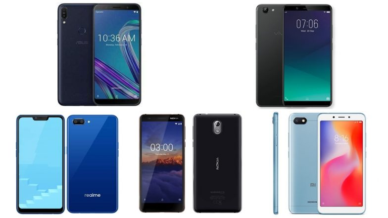Diwali 2018 Best Smartphones: Top 5 Mobiles Under Rs 10000 To Buy or Gift This Festive Season in India