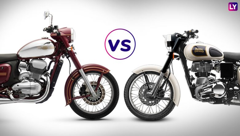 New Jawa 300 cc Motorcycle vs Royal Enfield Classic 350: India Prices, Features & Specifications – Comparison