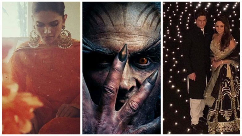 Deepika-Ranveer's Pre-Wedding Ceremonies, 2.0 Trailer, Shah Rukh Khan's Diwali Bash: Here Are Some Major Bollywood News-Makers of This Week