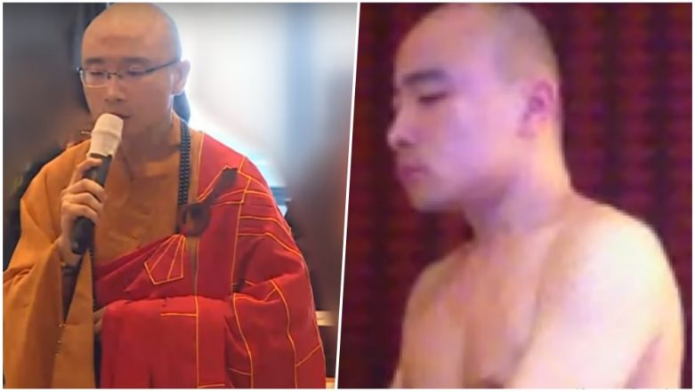 Taiwanese Buddhist Monk Caught Taking Drugs & Throwing Gay Sex Orgy at the Temple; Watch Leaked Video
