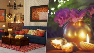 Diwali 2018 Festive Home Decor Tips: From Statement Furniture to Twinkling Lights, Make Your House Ready for a Deepavali Party