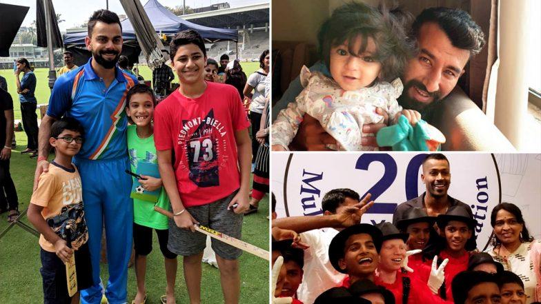 Children's Day 2018: Virat Kohli, KL Rahul, Cheteshwar Pujara, Hardik Pandya do not Wish to Let go Of the Child in Them