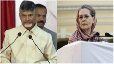 Telangana Assembly Elections 2018: Chandrababu Naidu Will Not Share Stage with Sonia Gandhi at Rally, Says Congress