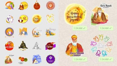 Gurpurab 2018: WhatsApp Stickers to Share Guru Nanak Jayanti Wishes & Image Greetings With Friends & Family