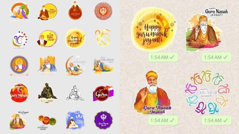 Gurpurab 2018: WhatsApp Stickers to Share Guru Nanak Jayanti Wishes & Image Greetings With Friends & Family