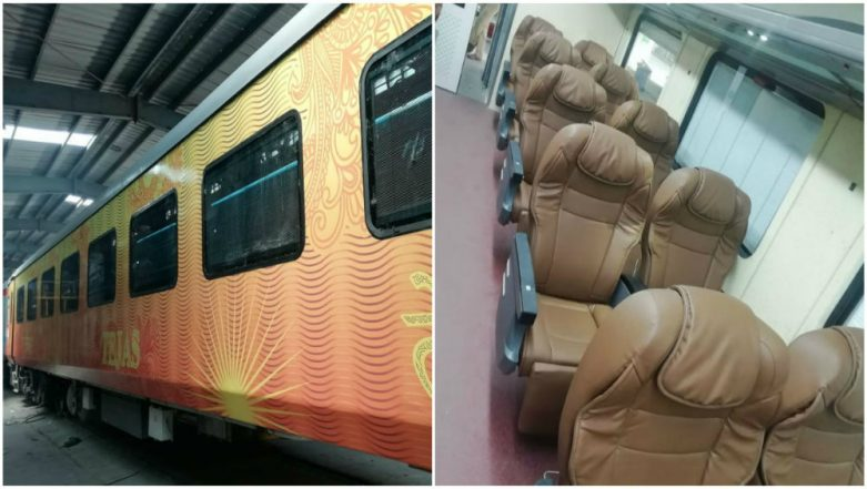 New Tejas Express Train With Swankier Coaches Flagged Off in Chennai