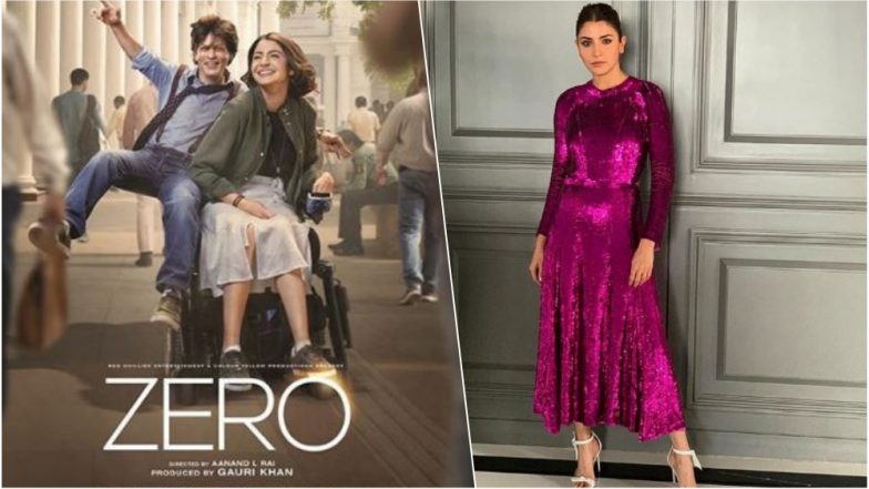 Anushka Sharma at Zero Trailer Launch: The Actress Looks Stunning In This Glittery Temperley London Magenta Pink Outfit – See Pic