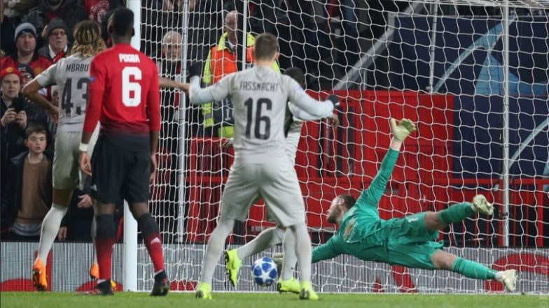 Image result for de gea vs young boys 2018